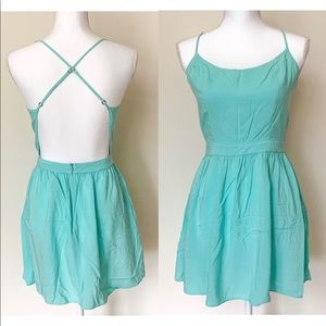 Bethany Mota Turquoise Dress